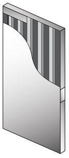 1400 Door Series Steel Stiffened Doors Steel Door