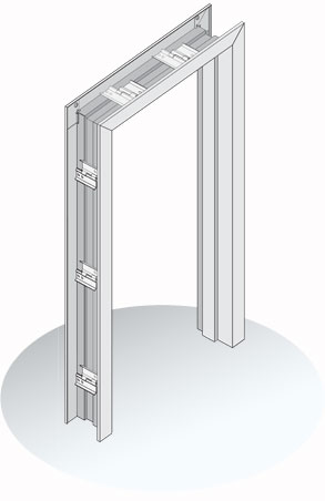 Exp5000 Series Door Frames Steel Expandable Drywall